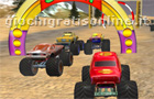 Giochi auto : Racing Monster Truck 3D