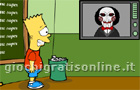Giochi online: Bart Simpson Saw Game
