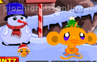 Giochi online: Monkey Go Happy: North Pole