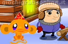 Giochi online: Monkey go happy: Magic
