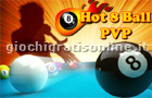 Giochi biliardo : Hot 8 Ball PVP