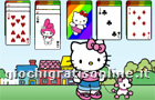 Giochi online: Hello Kitty Solitaire