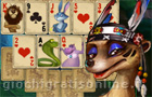 Giochi online : Rainforest Solitaire