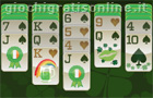 Giochi online: St. Patrick's Day Solitaire