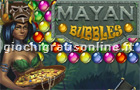 Giochi online: Mayan Bubbles