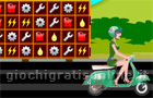 Giochi di puzzle : Scooty Racing Match 3