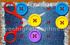 Giochi di puzzle : Buttons And Scissors Story