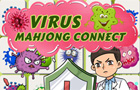 Virus Mahjong Connect