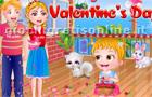 Giochi per ragazze : Baby Hazel Valentine's Day