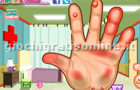 Giochi online: Dora Hand Doctor Caring
