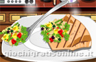 Giochi per ragazze : Swordfish with vegetables