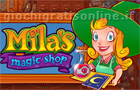 Giochi online: Mila's Magic Shop
